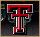 Texas Tech Double T Red Raider Painted Trailer Hitch Cover