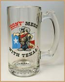 Don't Mess With Texas Beer Mug